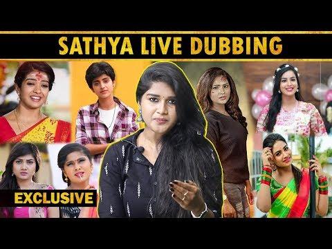 Dubbing Experiences : Cinema-விட Serial தான் கஷ்டம் .! | Dubbing Artist Akshaya Praba Interview