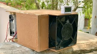 How to make a Portable Thermoelectric Air Conditioner at Home thumbnail