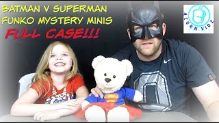 Batman V Superman Funko Mystery Minis FULL CASE
