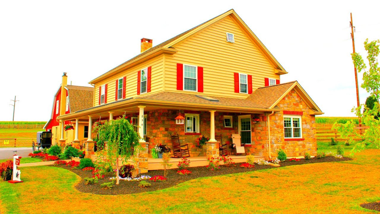 Amish Built Homes In Pa : Amish house lancaster county pennsylvania youtube