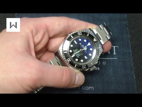 Rolex Deepsea Sea-Dweller D-Blue 116660 Luxury Watch Review