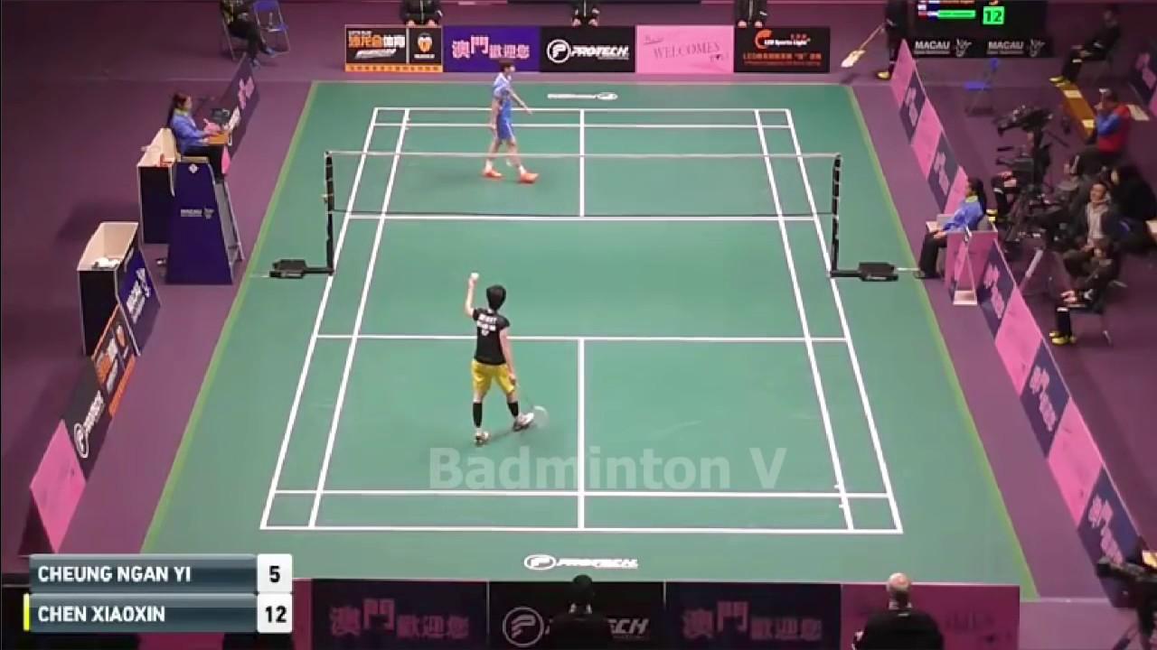 Badminton Macau 2016 Semi Final CHEN Xiaoxin vs CHEUNG Ngan Yi
