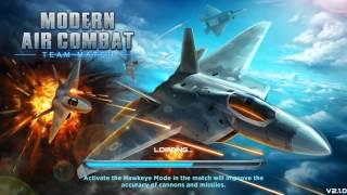 Modern Air Combat : Team Match 2v2 Gameplay