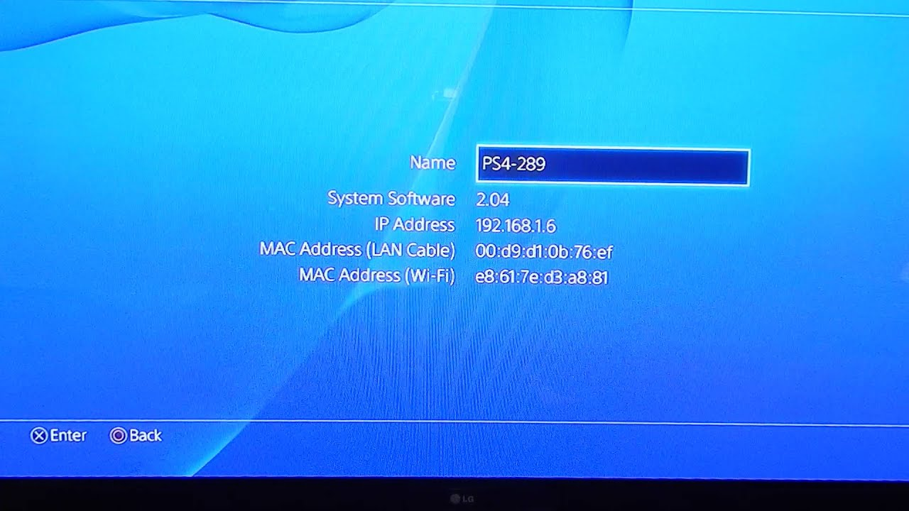 How to protect ip address on ps4