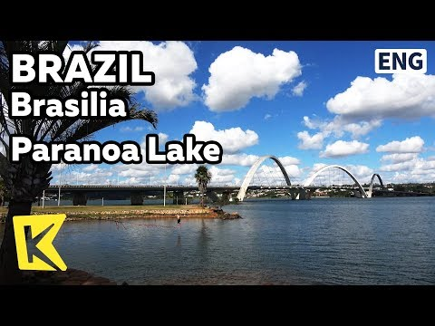【K】Brazil Travel-Brasilia[브라질 여행-브라질리아]인공호 파라노아 호수/Unesco/Paranoa Lake/Juscelino Kubitschek Bridge