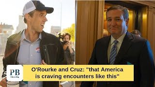"""""""This is America"""": Beto and Cruz run into each other at Texas airport"""