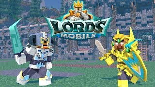 FNAF vs Mobs : Lords Mobile Challenge - Minecraft Animation