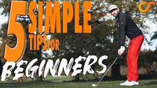 5 SIMPLE TIPS FΟR BEGINNER GOLFERS
