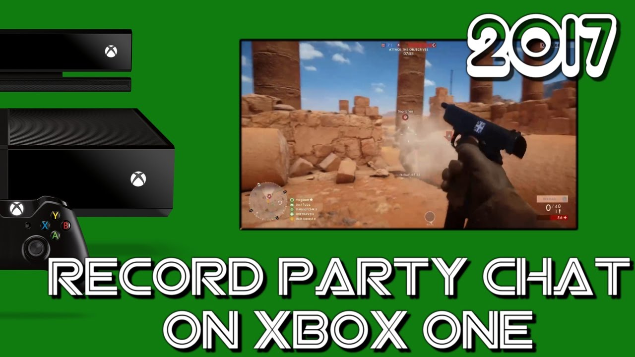 HOW TO STREAM AND RECORD XBOX ONE PARTY CHAT WITH OBS AND WINDOWS 10 XBOX  APP NO CAPTURE CARD 2017