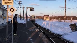 根室本線(花咲線) 厚床駅 釧路行き Nemuro Main Line (Hanazaki Line) Atsugi Station 네무로 본선 (花咲線) 앗 토코 역 根室干线(花崎线)厚木站