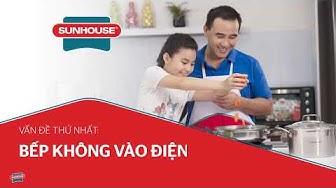 Hướng dẫn khắc phục lỗi thường gặp ở Bếp từ, Bếp hồng ngoại đơn   SUNHOUSE GROUP