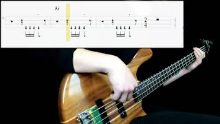 The Jackson 5 - I Want You Back (Bass Cover) (Play Along Tabs In Video)