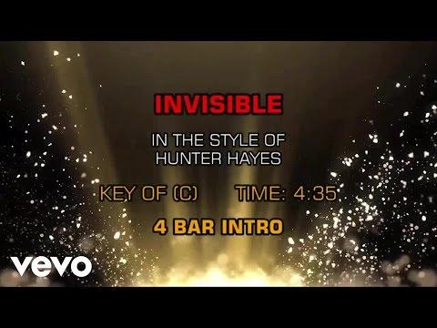 Hunter Hayes - Invisible (Karaoke)