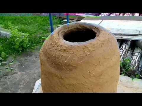 Тандир глиняный ч1