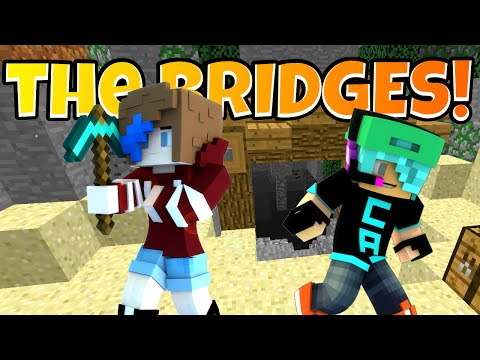 MINECRAFT the BRIDGES | RADIOJH GAMES & GAMER CHAD | IRN TACOS!
