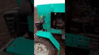 Обзор трактора ЮМЗ с двигателем СМД.