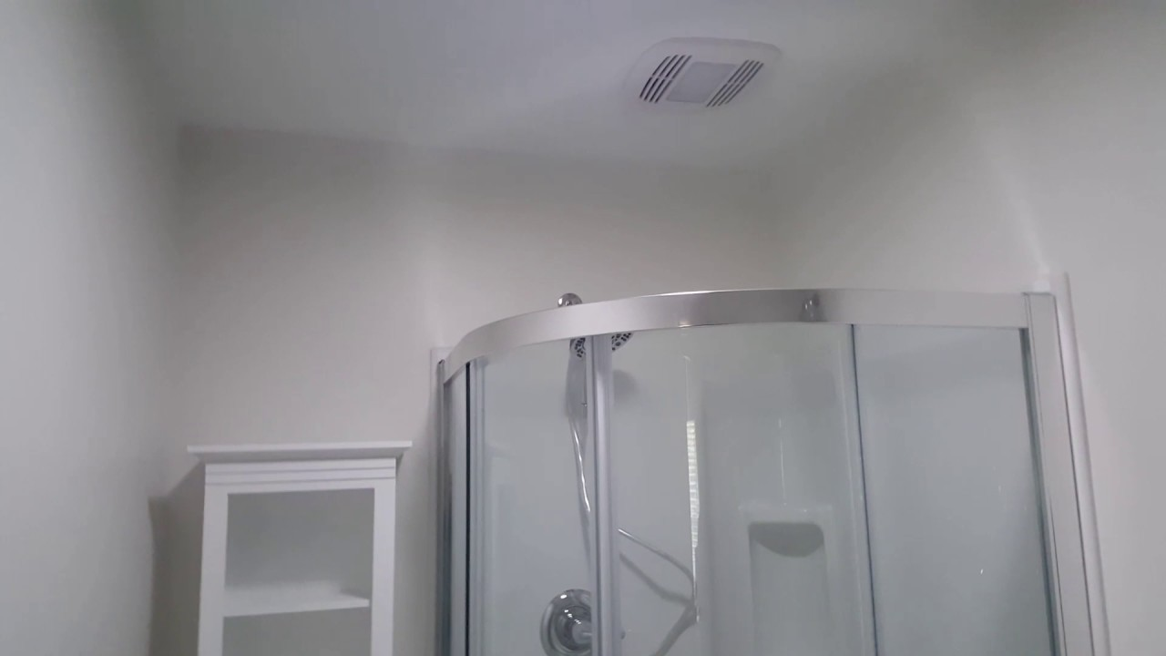 Curved Corner Shower Install Youtube