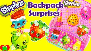 Shopkins Backpack Surprises with Frozen, Disney Princess, and MLP