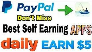 Lucky Fishing Apps Earn PayPal Reword & Google play Gift Card Earn