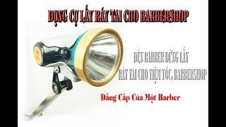 Đèn Đứng Lấy Ráy Tai Cho Tiệm Tóc, Barbershop Pin Sạc