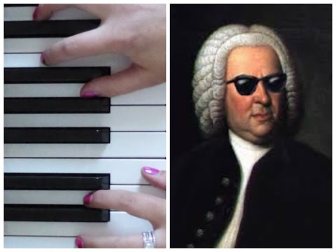 Bach Toccata in D Minor (ARRANGEMENT) | EASY PIANO TUTORIAL