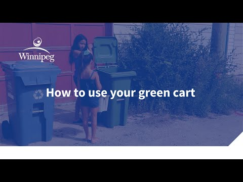 How to use your green cart