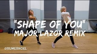 """SHAPE OF YOU"" MAJOR LAZOR REMIX 