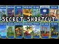 Beach Buggy Racing - All Map Secret Shortcut - Android Game Play