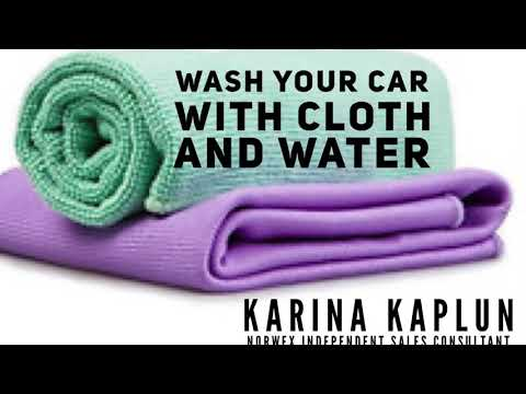 Wash Your Car with Norwex Cloths and Water