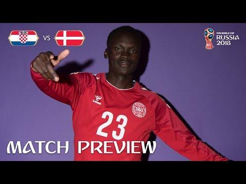 Pione SISTO (Denmark) - Match 52 Preview - 2018 FIFA World Cup™
