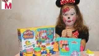 Игровой набор Play-Doh Город Магазинчик домашних питомцев (B3418) обзор и распаковка
