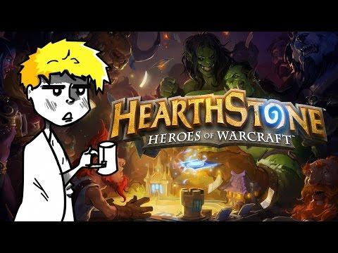 Når NickHal er syk, så spiller han Hearthstone