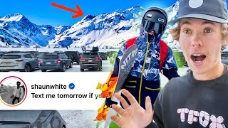 Exploring The #1 Ski Resort In the USA! *dangerous* (Shaun White Messaged Me)