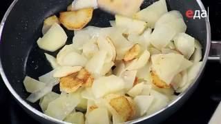 Жареная картошка тонкими ломтиками рецепт от шеф-повара / Илья Лазерсон