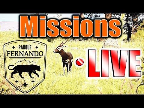 Parque Fernando Missions! LIVE