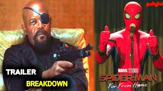 Spiderman Far From Home Trailer Breakdown in Tamil