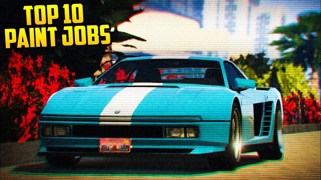 TOP 10 PAINT JOBS FOR THE CHEETAH CLIC! (GTA Online) - YouTube