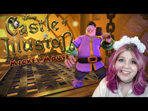 Disney's Castle of Illusion Staring Mickey Mouse | Castles, Knights, and Clocks! [5] | Mousie