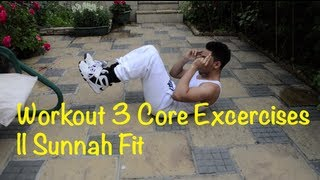 Third week training...Core/Abs || Sunnah Fit