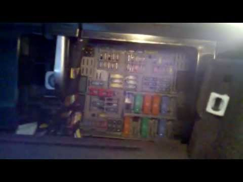 I Fuse Box Diagram 3 Series Door Lock Failure And Checking Fuses Youtube