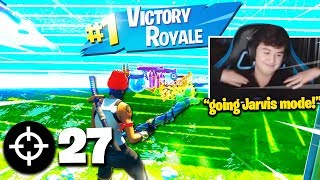 BUGHA *GOD MODE* 27 KILL SOLO ARENA MATCH! (Fortnite Chapter 2 World Record)