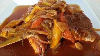 Jamaica Brown Stew Fish Recipe