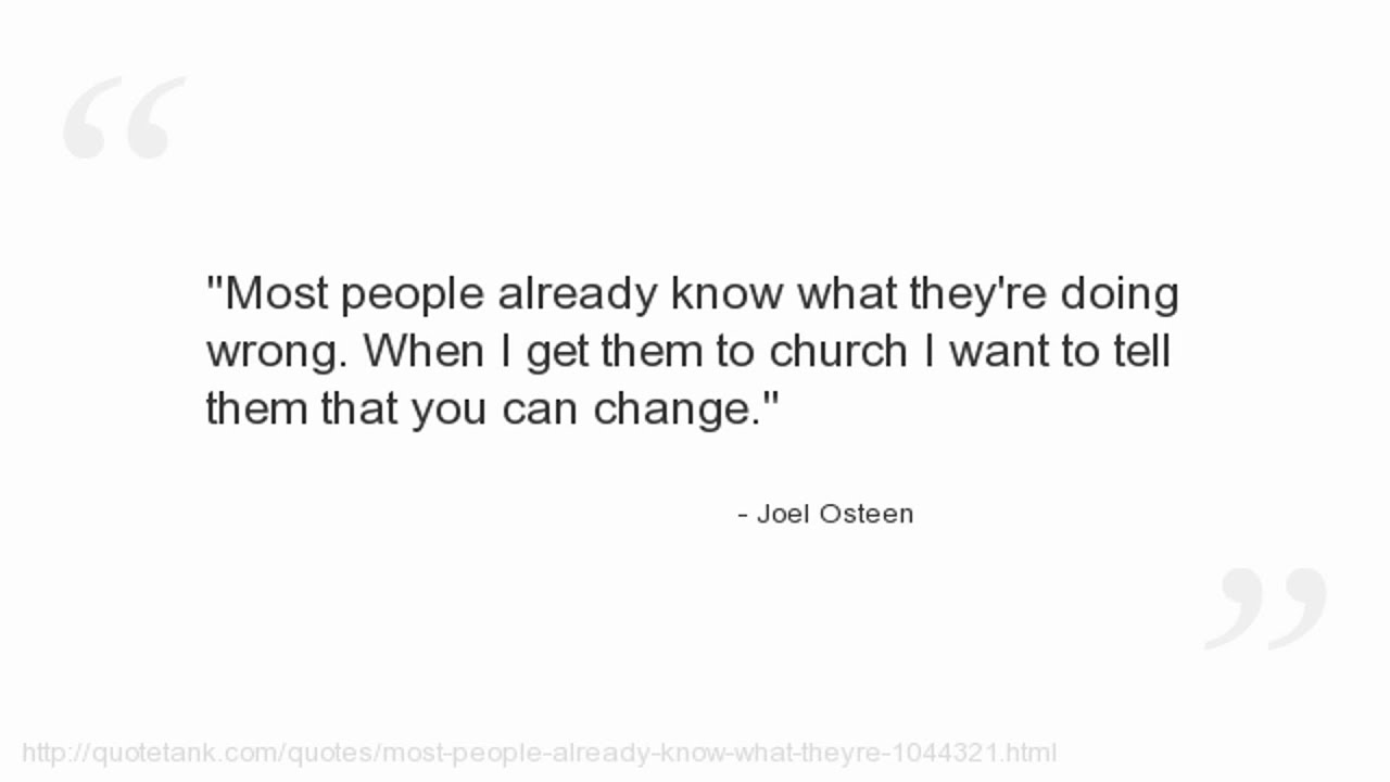 Joel Osteen Quotes On Love Joel Osteen Quotes  Youtube