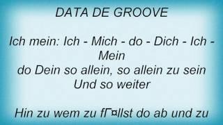 Falco - Data De Groove Lyrics