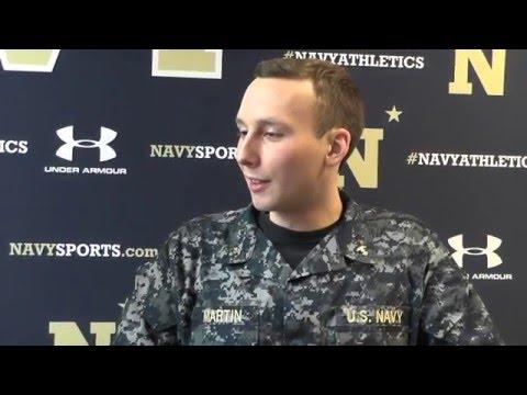 Navy Sports Magazine - Men's Swimmer Noah Martin