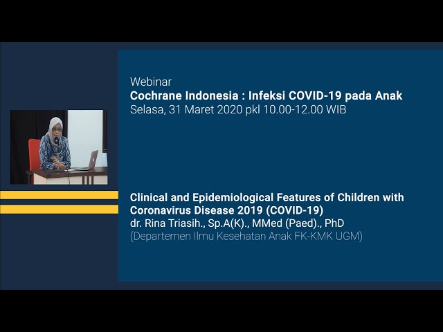 Clinical and Epidemiological Features of Children with Coronavirus Disease 2019 COVID 19