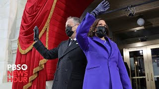 WATCH: Vice President-elect Kamala Harris arrives at U.S. Capitol for inauguration ceremony