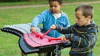 Duo Outdoor Xylophone   Outdoor Musical Instruments