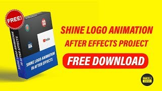 Shine Logo Animation in After Effects - After Effects Tutorial | Free Download | OMER J GRAPHICS