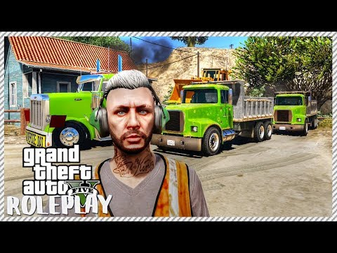 GTA 5 ROLEPLAY - New Construction Job | Ep. 114 Civ